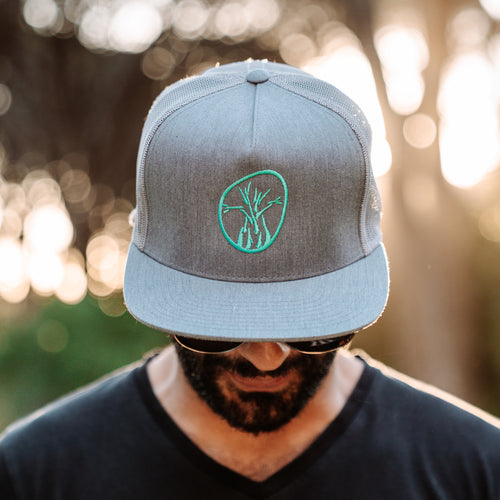ThisGuy SnapBack Trucker Cap - Baobab (Heather Grey)