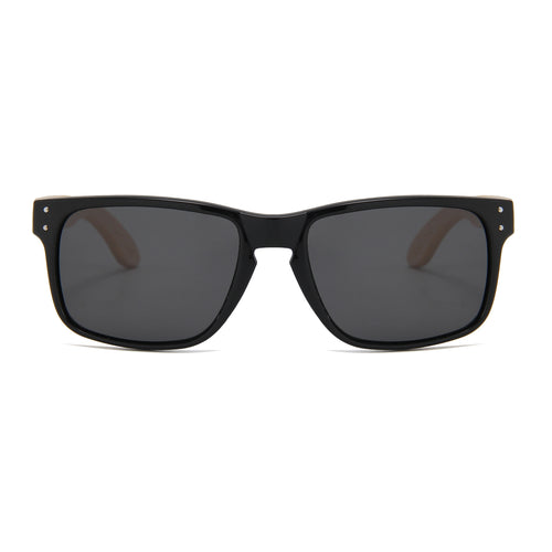 Bamboo Temple Sunglasses (Black)
