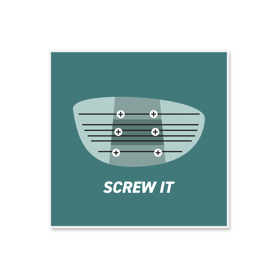 SCREW IT PRINT