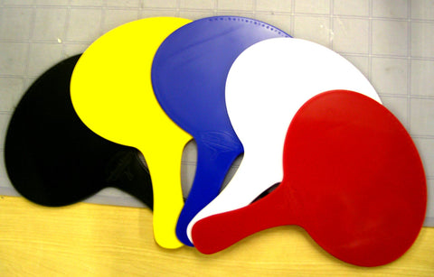 PlatinumPRO permanent paddles some of our color options