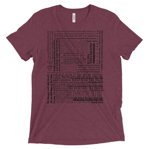 DUDES - Psalms & Proverbs - t-shirt