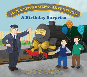 Jack & Ben's Railway Adventures - A Birthday Surprise (Trade pack of 10)