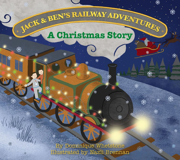 Jack & Ben's Railway Adventures - A Christmas Story (Trade pack of 10 books)