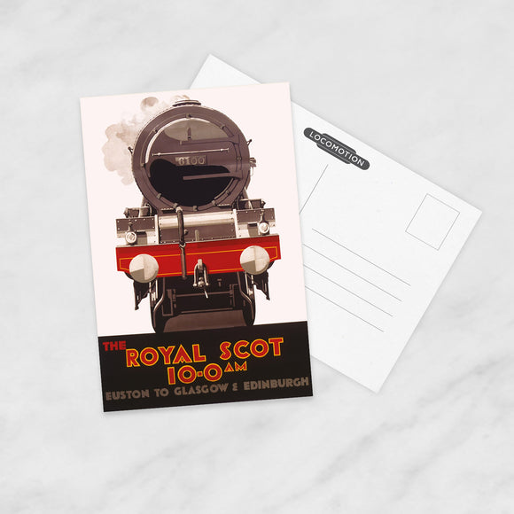 POSTCARD (Pack of 10): The Royal Scot