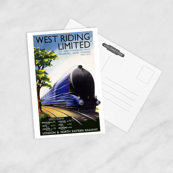 POSTCARD (Pack of 10): West Riding Limited
