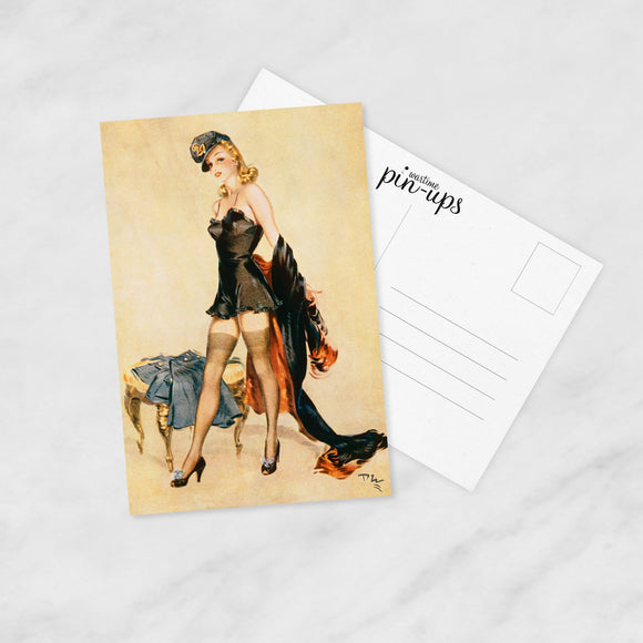 POSTCARD (Pack of 10): 'Off With The Old, On With The New'
