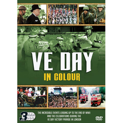 VE Day in Colour