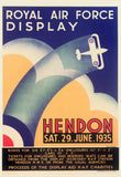 POSTER (Pack of 10): Royal Air Force Display Hendon - 29 June