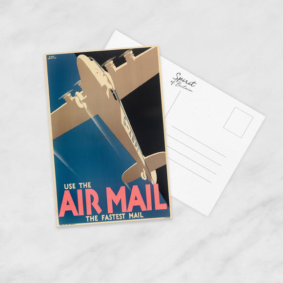 POSTCARD (Pack of 10): Air Mail