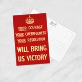 POSTCARD (Pack of 10): Bring Us Victory!