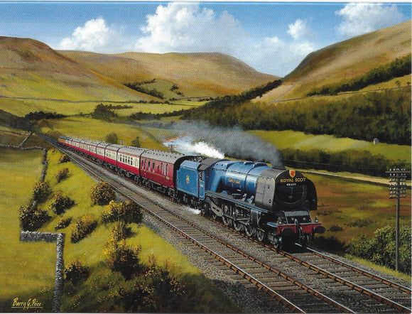The 'Royal Scot' Express (south bound) Glasgow to London