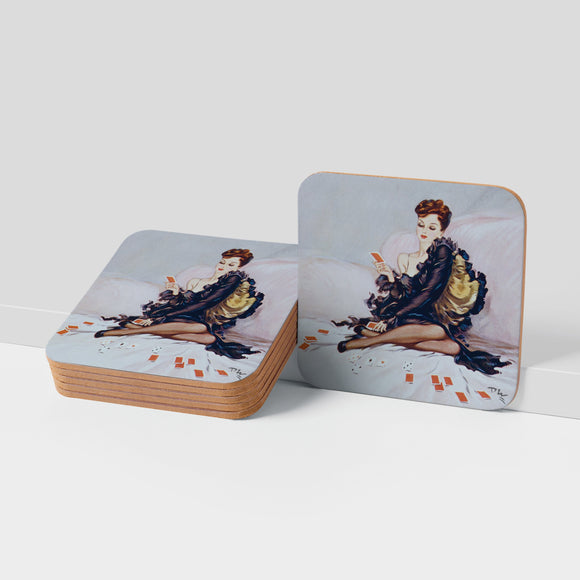 COASTER (Pack of 10): 'Patience'