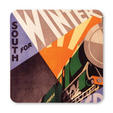 COASTER (Pack of 10): South For Winter Sunshine