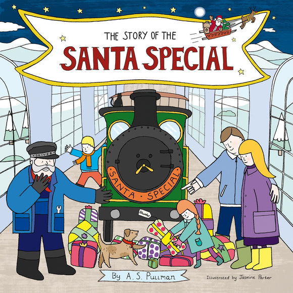 The Story Of The Santa Special (Box of 10 books with till-side display)