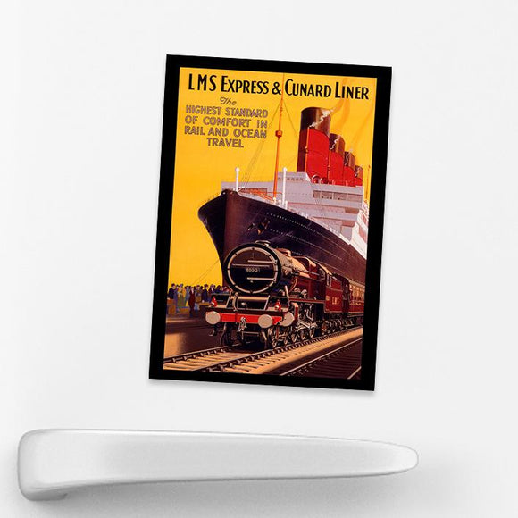 MAGNET (Pack of 10): Express & Cunard Liner