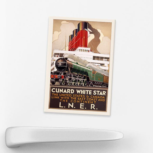 MAGNET (Pack of 10): LNER Cunard White Star