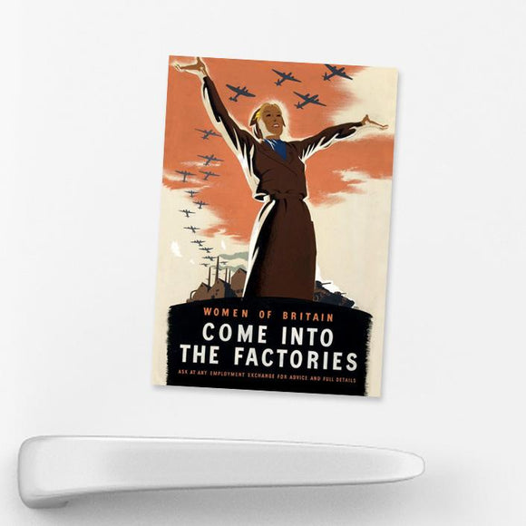 MAGNET (Pack of 10): Come Into The Factories
