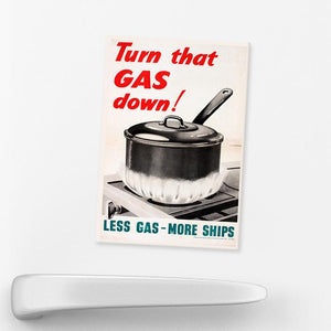 MAGNET (Pack of 10):  Turn That GAS Down!
