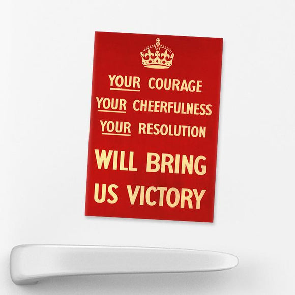 MAGNET (Pack of 10): Bring Us Victory!