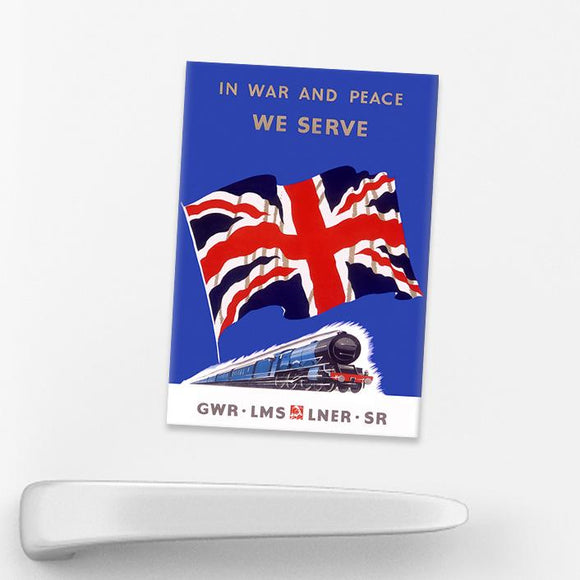 MAGNET (Pack of 10): In War And Peace We Serve