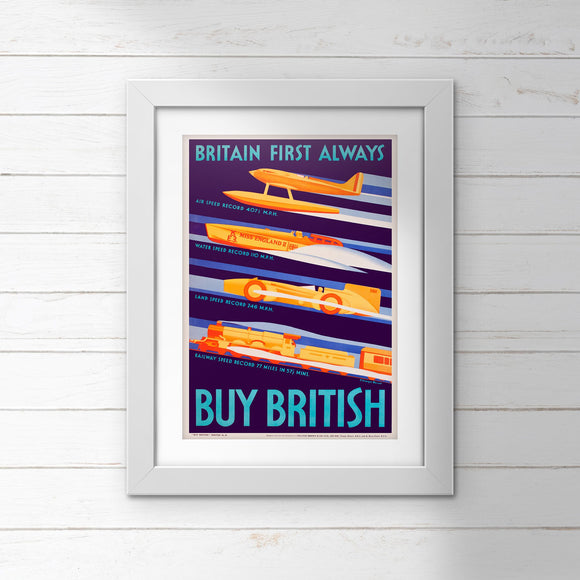 POSTER (Pack of 10): Buy British