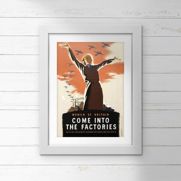 POSTER (Pack of 10): Come Into The Factories