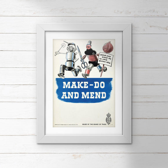 POSTER (Pack of 10): Make Do And Mend