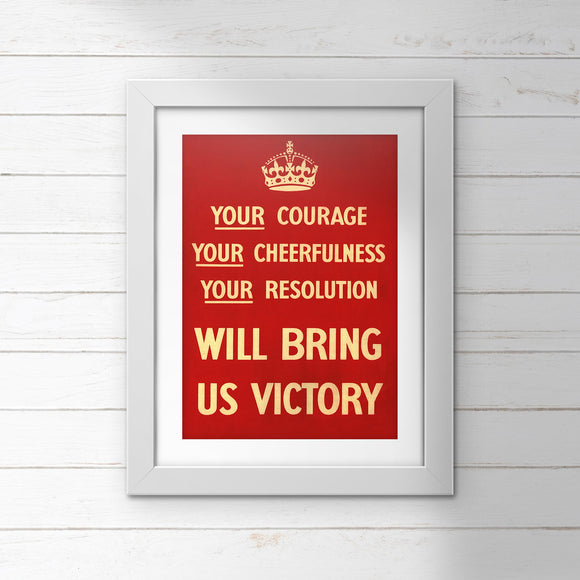POSTER (Pack of 10): Bring Us Victory!