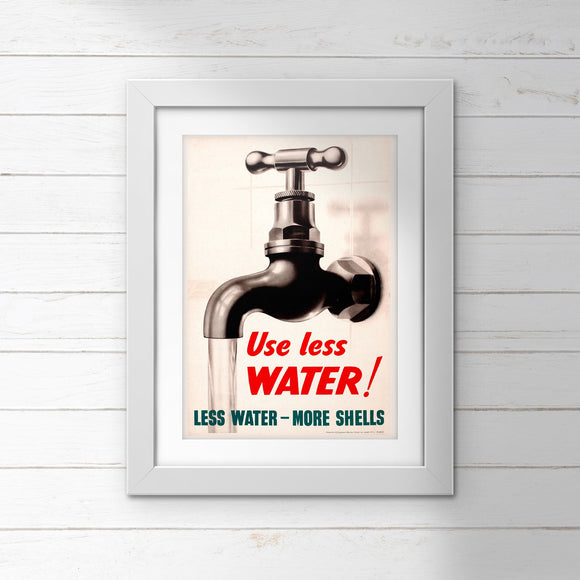 POSTER (Pack of 10): Use Less WATER!