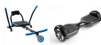Bundle (Non-Bluetooth Hoverboard with x1 Kart)