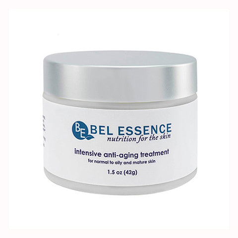 Intensive Anti aging and Anti Wrinkle Cream for normal to oily and mature skin  1.5 oz   Bel Essence