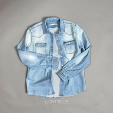 Load image into Gallery viewer, The Roper Denim Workshirt