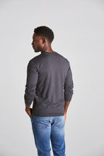 Load image into Gallery viewer, Brady Crew Long Sleeve Tee - Navy