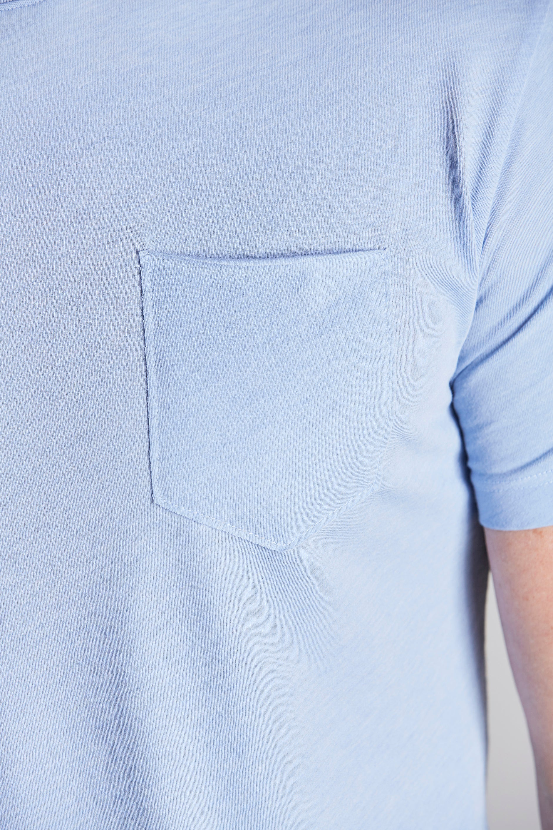 Load image into Gallery viewer, Jack Crew Short Sleeve Tee - Sky Blue