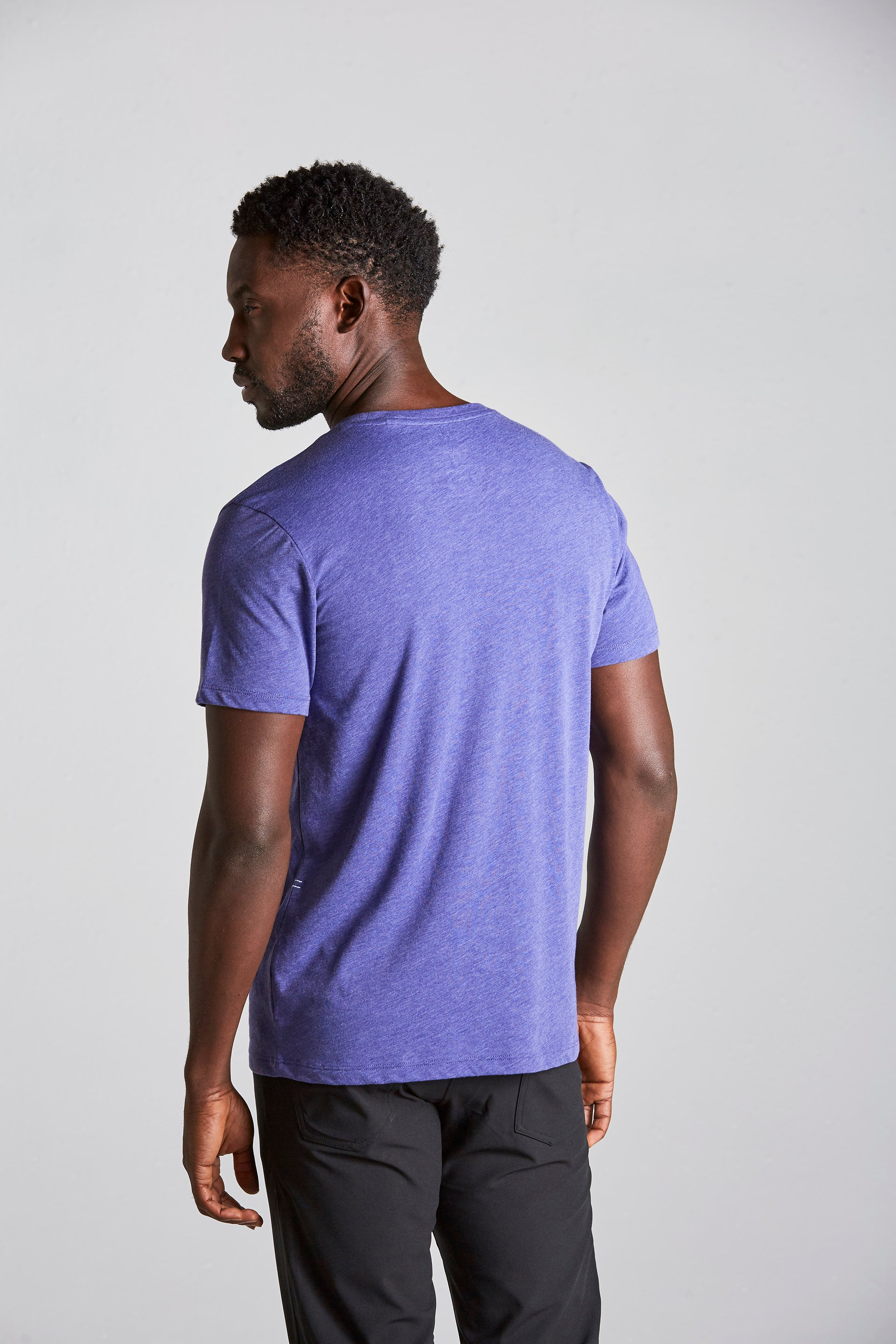 Load image into Gallery viewer, Jack Crew Short Sleeve Tee - Purple