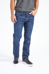 Silo Slim Straight Leg Denim - Kenneth Wash