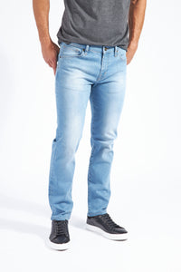 Silo Slim Straight Leg Denim - Crosby Wash