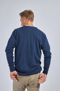 The Malcolm Raglan - Canclini Indigo