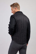 Load image into Gallery viewer, The Greyson Wool/Nylon Shirt Jacket - Black