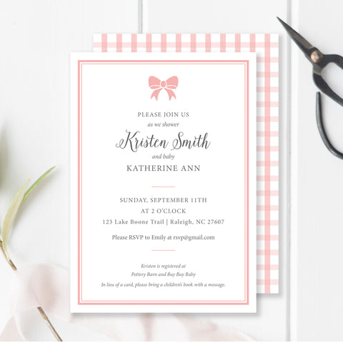 With A Bow Invitation