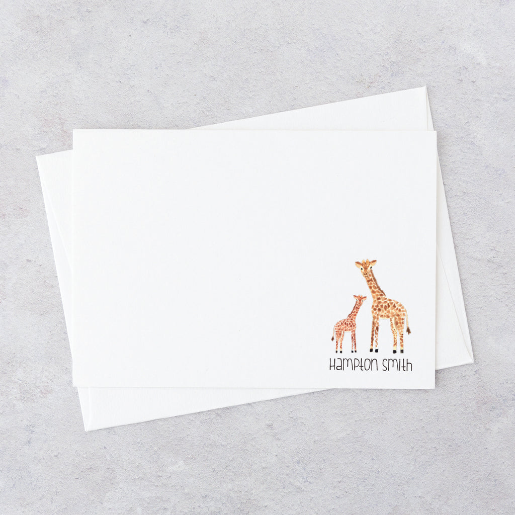 Baby Giraffe Notecards