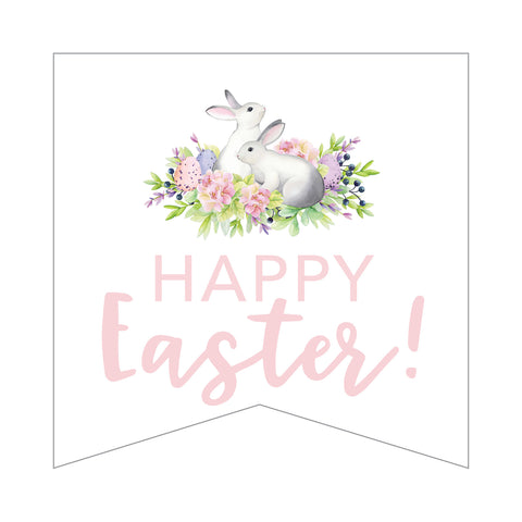 FREE Happy Easter Bunny Tags