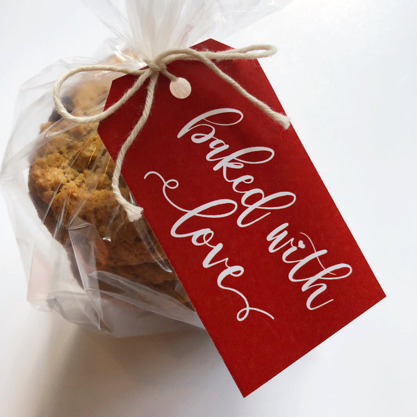 Baked with Love Food Tags