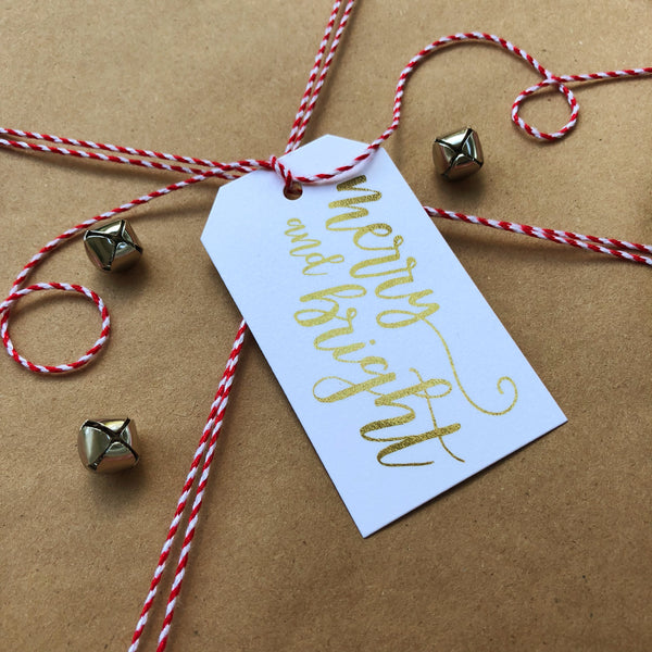 Merry & Bright Tags