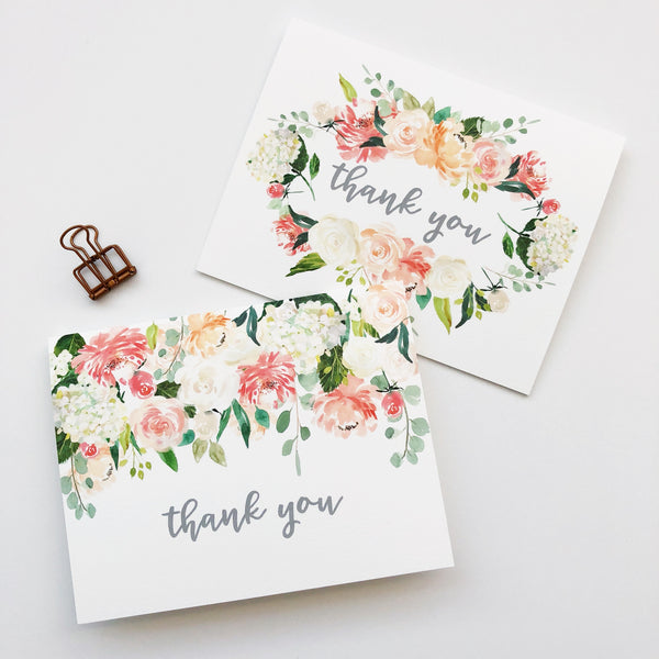 Floral Thanks Set