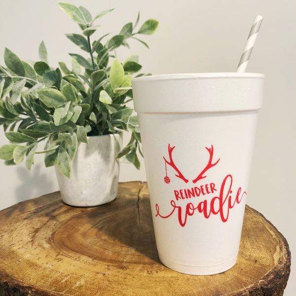 Reindeer Roadie Party Cups