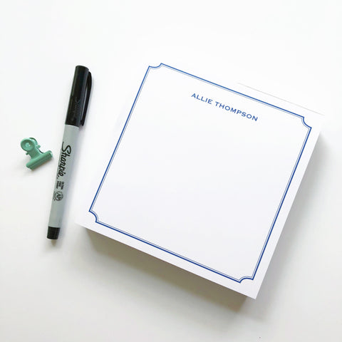 Double Border Notepad