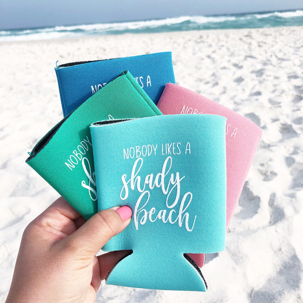 Shady Beach Can Cooler