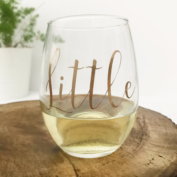 Big & Little Sorority Glasses