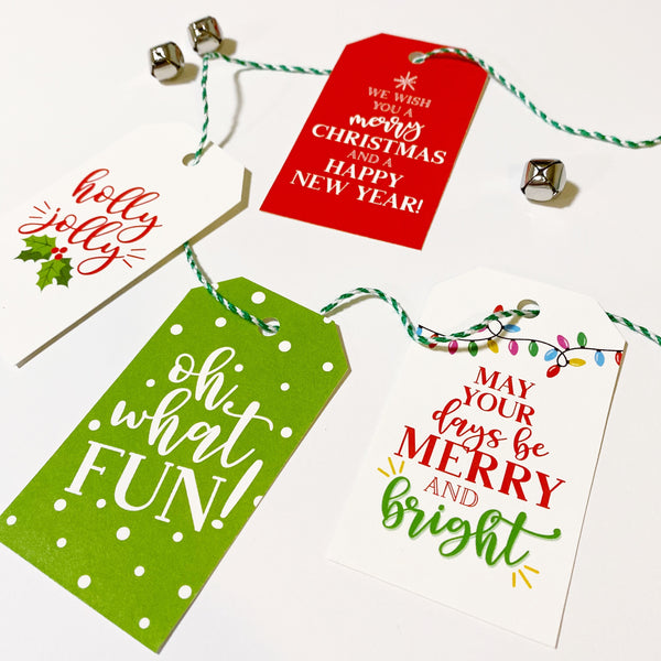 Variety Pack Christmas Tags
